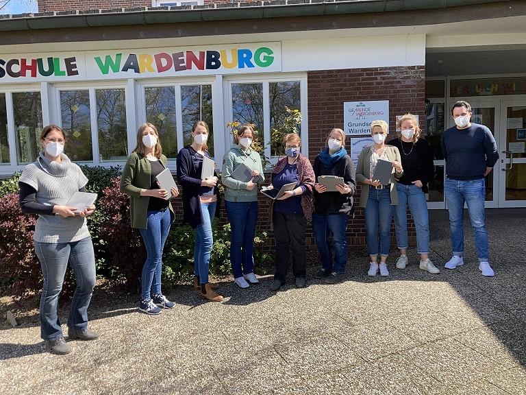 IPads für die Lehrer*innen der Grundschule Wardenburg