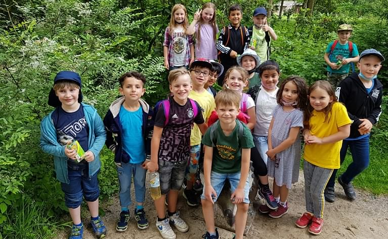 Ausflug der 1. Klassen nach Ostrittrum